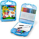 more details on Crayola Supertips Washable Markers & Paper Set.