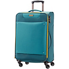 more details on American Tourister Spinner Medium Expander Suitcase - Blue.
