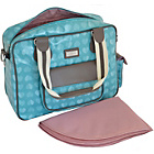 more details on Beau and Elliot Confetti Baby Changing Bag - Aqua.