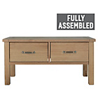 more details on Heart of House Oxley 2 Drawer Coffee Table - Solid Oak.