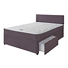 more details on Forty Winks Newington Comfort Support Double 2 Drw Divan Bed
