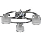 more details on Heart of House Ebury 3 Light Ceiling Fitting - Chrome.