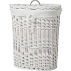more details on Heart of House Willow Linen Bin - White.