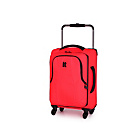 more details on IT Luggage World's Lightest Small 4 Wheel Suitcase - Red.