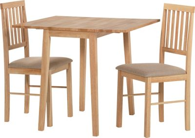 Buy HOME Kendall Drop Leaf Ext Dining Table amp 2 Chairs  : 3193206RSETTMBampwid620amphei620 from www.argos.co.uk size 620 x 620 jpeg 32kB