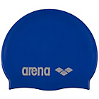 more details on Arena Classic Silicone Swim Cap - Royal Silver.