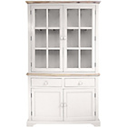 more details on Fairview 4 Door 2 Drawer Display Cabinet - White.