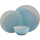 more details on Heart of House Dipped Earth 12 Piece Dinner Set - Duck Egg.