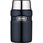 more details on Thermos Stainless King 0.7 Litre Food Flask - Blue.