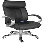 more details on Saporo Luxury Leather Massage Chair - Black.