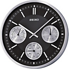 more details on Seiko Aluminium Wall Clock with Thermometer and Hydrometer.