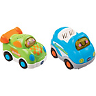 more details on VTech Toot Toot Drivers Twin Pack - Green Racer.