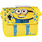 more details on Despicable Me Minions Novelty Satchel - Yellow and Blue.
