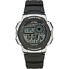 more details on Casio Men's LCD World Time Strap Watch.