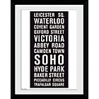 more details on GB Eye London Locations Framed Print.