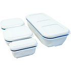 more details on Compleat Unikia Modular Lunchbox - White.