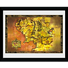 more details on GB Eye Lord of the Rings Middle Earth Framed Print.