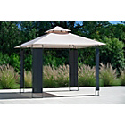 more details on Rattan Effect Square Gazebo - Express Delivery.