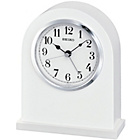 more details on Seiko White Mantel Clock with Alarm.
