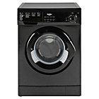 more details on Bush F841QB 8KG 1400 Spin Washing Machine-Black/Ins/Del/Rec.
