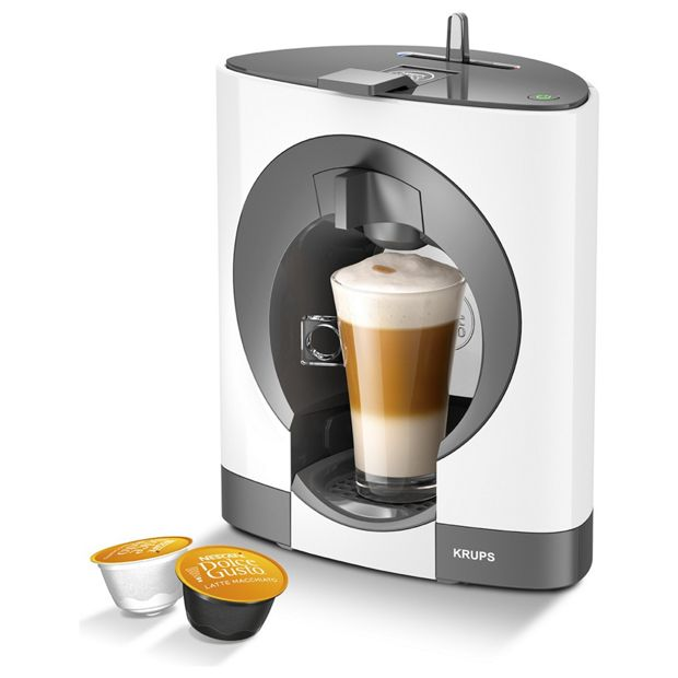 Buy NESCAFE Dolce Gusto Oblo Manual Coffee Machine- White at Argos.co.uk - Your Online Shop for ...