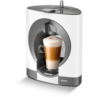 Nescafe Dolce Gusto KP110140 Oblo Manual Coffee Machine (White)