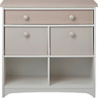 more details on Taunton 3 Drawer Slimline Unit - Cream.