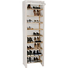 more details on Polycotton and Pine 9 Layer Shoe Rack - Cream.