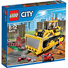more details on LEGO CITY Bulldozer - 60074.