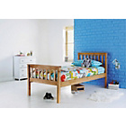 more details on Henry Pastelle Oak Look Single Bed with Ashley Mattress.