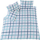 more details on Fraser Blue Twin Pack Bedding Set - Double.