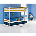 more details on Emilie Reversible Slide Store Bunk Bed with Ashley Mattress.