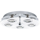 more details on Eglo Cabo 5 Point LED Round Ceiling Light.