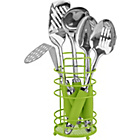more details on ColourMatch Stainless Steel 5 Pc Kitchen Utensils Set- Green