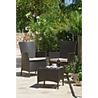 more details on Bali 2 Seater Bistro Set - Brown.