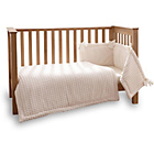more details on Clair de Lune Marshmallow 3 Piece Cot/Cot Bed Set - Cream.