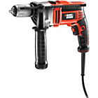 Black and Decker 800w Hammer Drill and Kitbox.