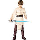 more details on Child's Deluxe Jedi Fancy Dress Costume - Large.