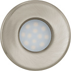 more details on Eglo Igoa 85mm Nickel Bathroom Spotlights - Set of 3.