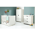 more details on Mamas and Papas Rocco 4 Piece Nursery Set - White.