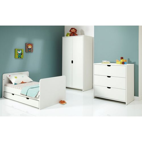 Mamas and Papas Rocco 4 Piece Nursery Set - White
