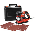 more details on Black and Decker 270w Duosand 1/3 Sheet Sander.