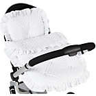 more details on Clair de Lune Dimple Continental Pram Set - White.