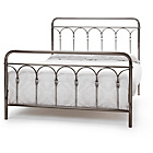 more details on Sandbach Double Bed Frame - Antique Nickel.
