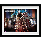 more details on GB Eye Doctor Who The Daleks Framed Print.