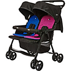 more details on Joie Aire Twin Pushchair - Blue and Pink.