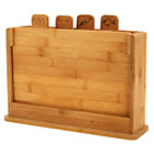 more details on Heart of House Bamboo Chopping Board - Pack of 4.