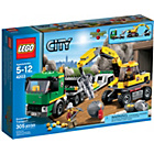 more details on LEGO® CITY Excavator and Truck - 60075.