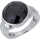 more details on Sterling Silver with Black Cubic Zirconia Ring.