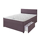 more details on Forty Winks Newington Comfort Zoned Small Double 2 Drw Divan